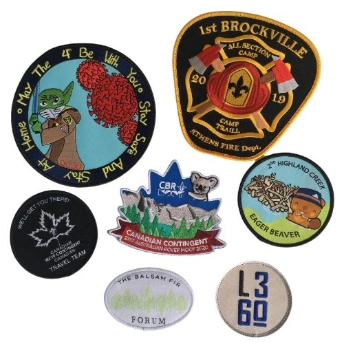 Custom crests by Big Bang Promotional Products