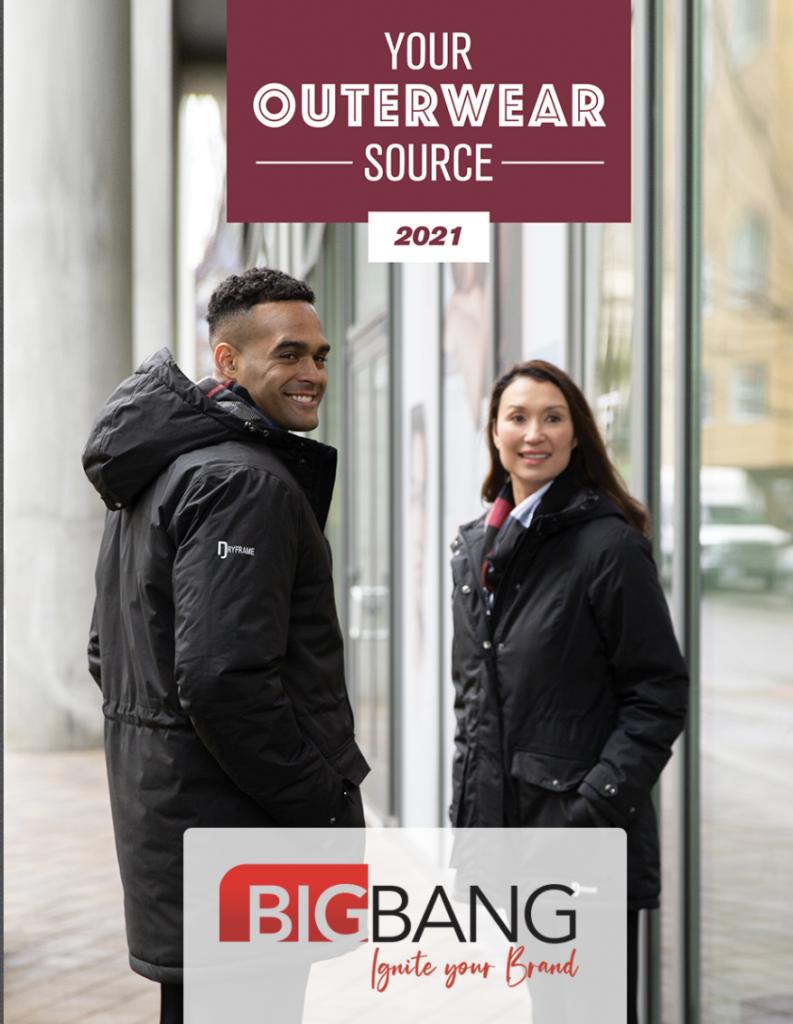 Big Bang Outdoor Apparel Catalogue Cover