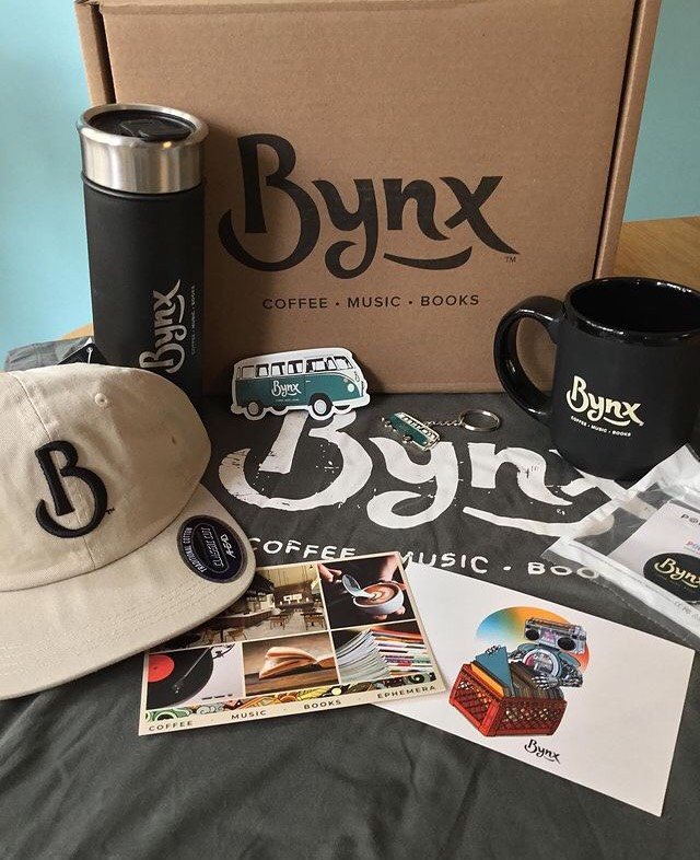 Custom Swag Box by Big Bang Promotional Products for Bynx