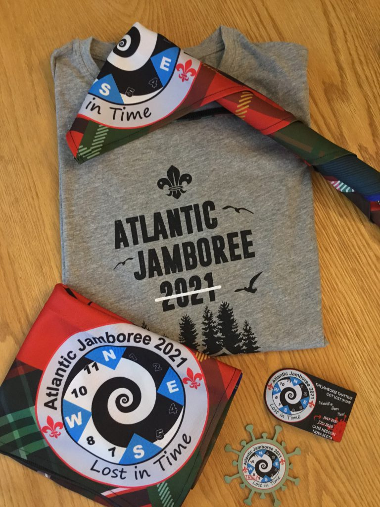 2021 Atlantic Canada Scout Jamboree swag by Big Bang Promotional Products